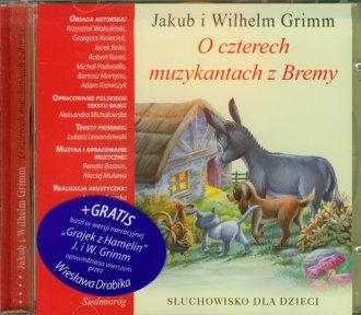 O czterech muzykantach z Bremy. - pudełko audiobooku