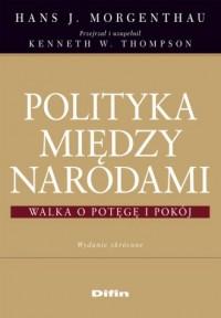 Polityka między narodami - Hans - okładka książki
