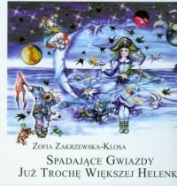 Spadające gwiazdy już trochę większej Helenki - okładka książki
