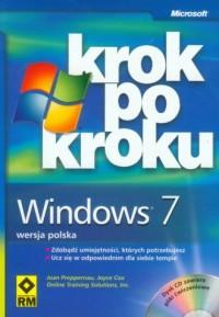 Windows 7. Krok po kroku (CD) - okładka książki