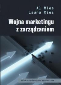Wojna marketingu z zarządzaniem - okładka książki