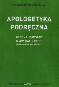 Apologetyka podręczna - okładka książki
