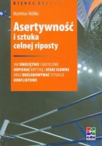 Asertywność i sztuka celnej riposty - okładka książki