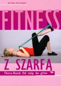 Fitness z szarfą - okładka książki