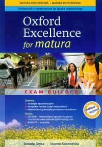 Oxford Exellence for Matura. Podręcznik z repetytorium (+ CD) - okładka podręcznika