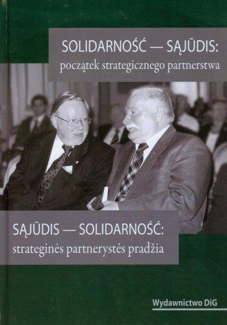 Solidarność - Sąjudis: początek - okładka książki