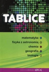 Tablice zbiorcze. Matematyka - okładka podręcznika