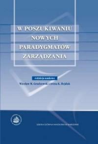 W poszukiwaniu nowych paradygmatów - okładka książki