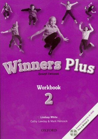 Winners Plus 2. Workbook (+ CD) - okładka podręcznika