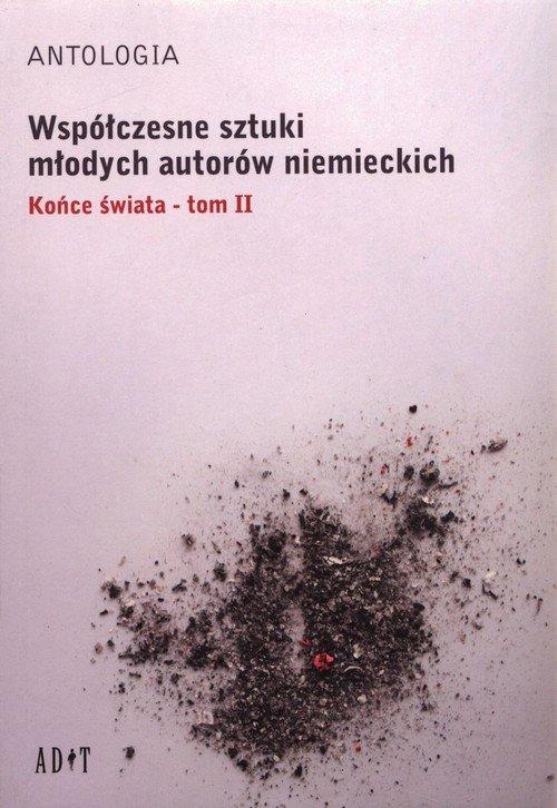 Współczesne sztuki młodych autorów - okładka książki