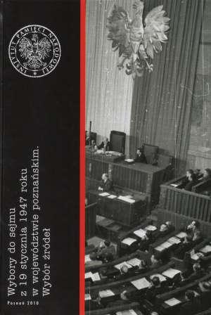 Wybory do sejmu z 19 stycznia 1947 - okładka książki