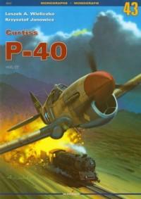 Curtiss P-40. Tom 3 - okładka książki