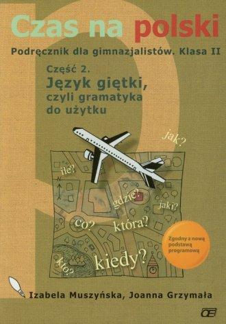 Czas na polski. Podręcznik dla - okładka podręcznika