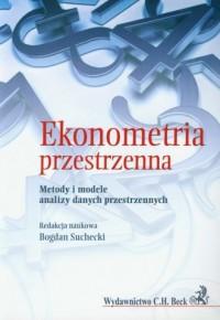 Ekonometria przestrzenna - okładka książki