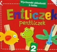 Entliczek pentliczek 2. Wycinanki-składanki 5-latka - okładka podręcznika