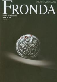 Fronda nr 552010 - Wydawnictwo - okładka książki