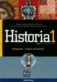 Historia. Klasa 1. Liceum, technikum. Podręcznik cz. 2. Zakres podstawowy - okładka podręcznika