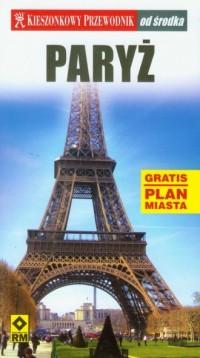 Kieszonkowy przewodnik. Paryż od środka - okładka książki