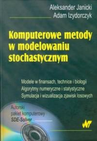 Komputerowe metody w modelowaniu stochastycznym - okładka książki