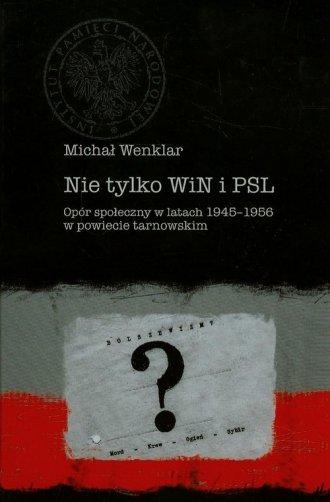 Nie tylko WiN i PSL. Opór społeczny - okładka książki