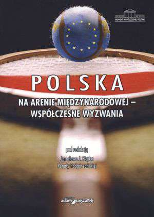 Polska na arenie międzynarodowej - okładka książki