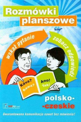 Rozmówki planszowe polsko-czeskie. - okładka książki
