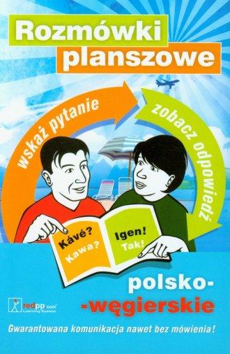 Rozmówki planszowe polsko-węgierskie. - okładka książki