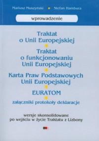 Traktat o Unii Europejskiej - okładka książki