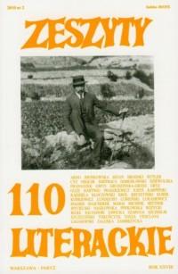Zeszyty Literackie 110 - okładka książki