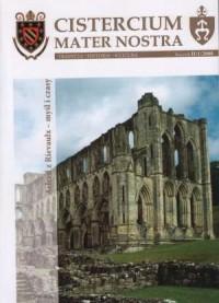 Cistercium mater nostra. Tradycja - Historia - Kultura. Rocznik II/1/2008. Alred z Rievaulx - okładka książki