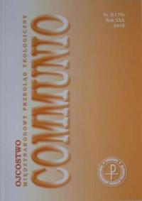 Communio nr 2(170)/2010. Ojcostwo - okładka książki