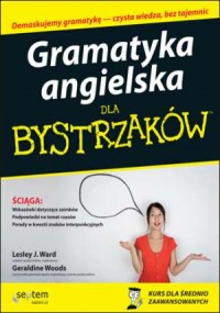 Gramatyka angielska dla bystrzaków - okładka podręcznika