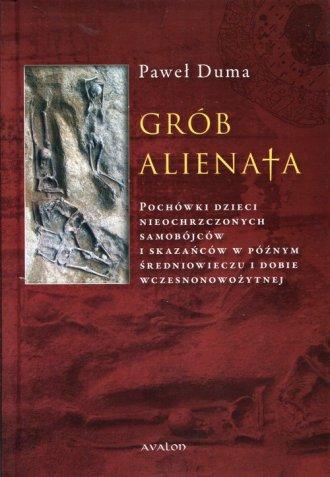 Grób Alienata - okładka książki