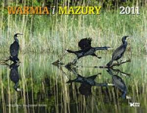 Kalendarz 2011 ścienny Warmia i - okładka książki