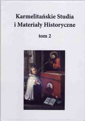 Karmelitańskie Studia i Materiały - okładka książki