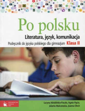 Po polsku. Literatura, język, komunikacja. - okładka podręcznika