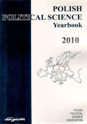 Polish Political Science. Yearbook - okładka książki
