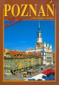 Poznań i okolice. Wersja angielska - okładka książki