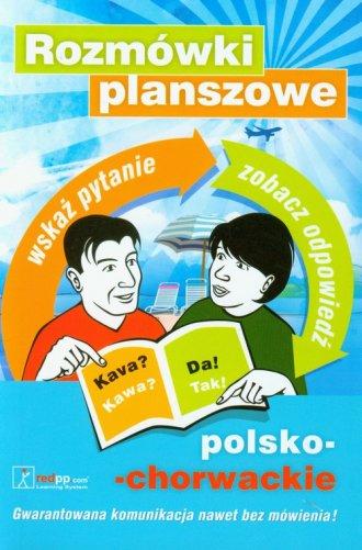 Rozmówki planszowe polsko chorwackie. - okładka książki