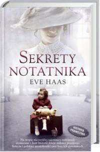 Sekrety notatnika - okładka książki