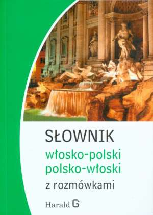 Słownik włosko-polski, polsko-włoski - okładka podręcznika