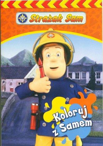 Strażak Sam. Koloruj z Samem - okładka książki