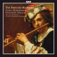The Virtuoso Recorder - okładka płyty