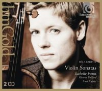 Violin Sonatas - Bela Bartok - okładka płyty