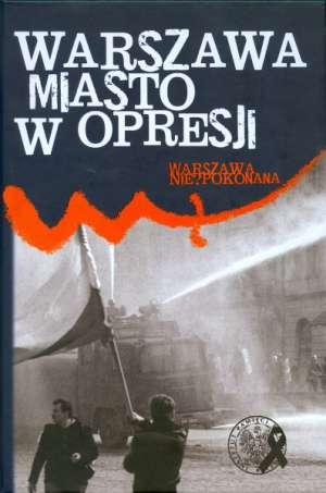 Warszawa miasto w opresji - okładka książki