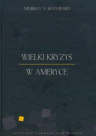 Wielki Kryzys w Ameryce - okładka książki