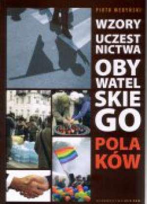 Wzory Uczesnictwa obywatelskiego - okładka książki