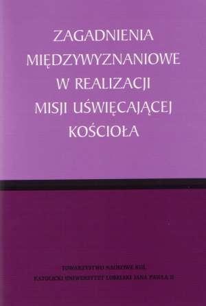 Zagadnienia międzywyznaniowe w - okładka książki