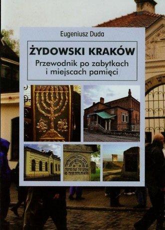 Żydowski Kraków. Przewodnik po - okładka książki