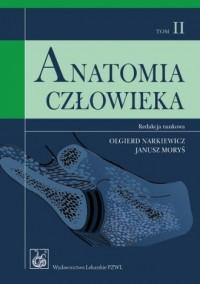 Anatomia człowieka. Tom 2 - okładka książki